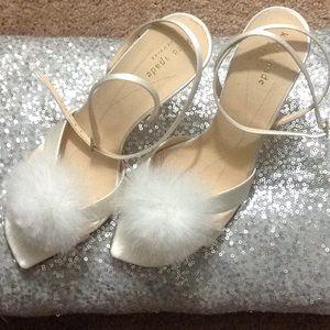 Kate Spade- Strappy Satin Sandals